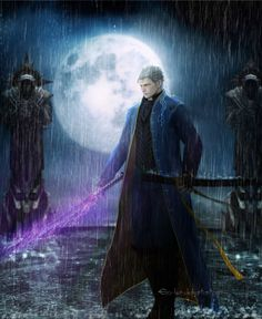 Artists name located on the image. Vergil