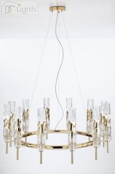 LUCE da VIVERE Bamboo Lampe Pendelleuchte 12 - flammig ø94 cm
