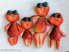 Fun food art for toddlers. Fun food art for toddlers. Food Art For Kids, Cooking With Kids, Summer Food Kids, Cooking Tips, Fruit Art Kids, Toddler Meals, Kids Meals, Cute Food, Good Food
