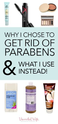 Why I Chose To Get Rid Of Parabens and how they affected my body and ultimately my marriage!