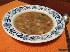 Podzimní hrstková polévka