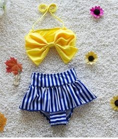 """DAISY SAILOR SWIMSUIT PRICE $19.99 OPTIONS: 12M, 2T, 3T, 4T To purchase: comment """"sold"""", size & email"""