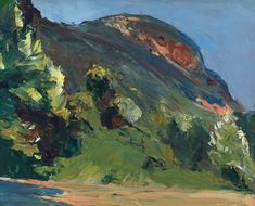 Bluff, Edward Hopper, 1916-19