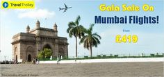 Hello All! Travel Trolley introduces exclusive deals on Mumbai flights across multiple airlines. Hurry, make your bookings today