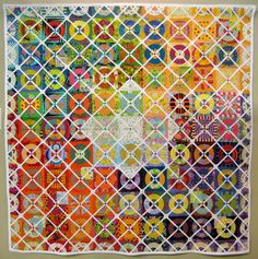 Traditional Quilt Category ~ 2012 Tokyo International Great Quilt Festival.  Photo by Be*mused.  I love this one.  :)