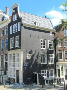 Keizersgracht 716 (corner Reguliersgracht). This house has one of the first bell gable of Amsterdam (1671).