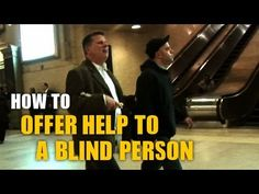 Ever wondered how to offer help to a ‪#‎visuallyimpaired‬ person? Find out in this amazing video from Tommy Edison and let us know your thoughts.