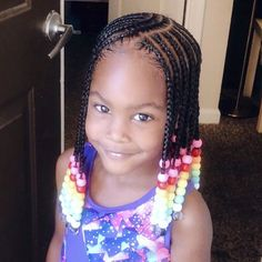 Little Girls Natural Hairstyles, Toddler Braided Hairstyles, Toddler Braids, Lil Girl Hairstyles, Black Kids Hairstyles, Braids For Kids, Toddler Hair, Children Hairstyles, Little Girl Braid Styles
