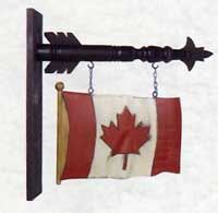 Canadian Flag Arrow Replacement
