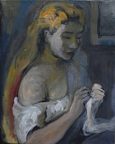 Pierre Auguste Renoir   모작의 초반 단계 약 2시간 입니다.