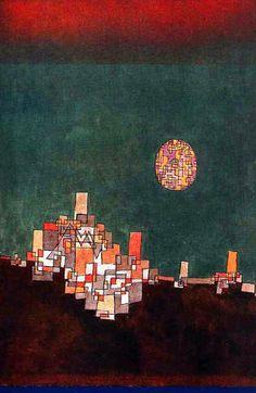 "chimneyfish: ""Chosen Site, 1940 Paul Klee """