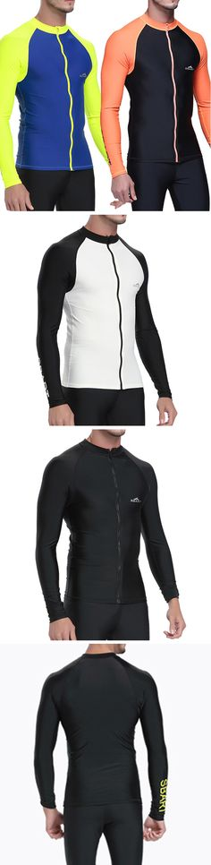 US$26.68 (47% OFF) Outdoor Diving Sunscreen Jellyfish Suit / Surf Long Sleeve Tops Swimwear for Men
