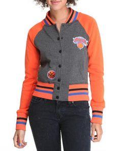 New York Knicks City Light Weight Track Jacket