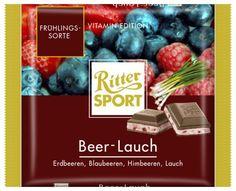 RITTER SPORT Fake Schokolade Beer-Lauch