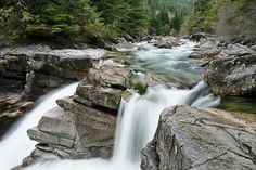 Upper Falls, Gold Creek 2014. Upper Falls in Golden Ears Provincial Park, British Columbia, Canada.