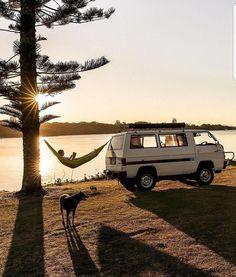 caravan home 308 Pics From Project Van Life Instag - caravan Camping Life, Camping Ideas, Camping Hacks, Minivan Camping, Camping Trailers, Camping Stuff, Camping Essentials, Wolkswagen Van, Tenda Camping
