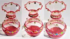 Plastic Bottle Craft | How to make a decorative pot from plastic bottle