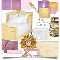 Rapunzel - Bedroom by annabelle-95 on Polyvore featuring interior, interiors, interior design, home, home decor, interior decorating, Redford House, Sunham, Ralph Lauren and Dot & Bo