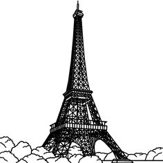Eiffel Tower Coloring Pages Printable from category. Find out more cool pictures to color for your kids Eiffel Tower Clip Art, Eiffel Tower Drawing, Paris Eiffel Tower, Fnaf Coloring Pages, Rose Coloring Pages, Mandala Coloring, Coloring Sheets, Paris Background, Eiffel Tower Pictures