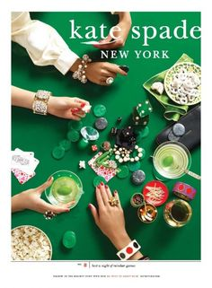 kate spade baubles...favorite holiday campaign