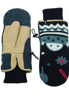 Accessories → Gloves & scarfs → Cameo knitted gloves - WeSC Webshop