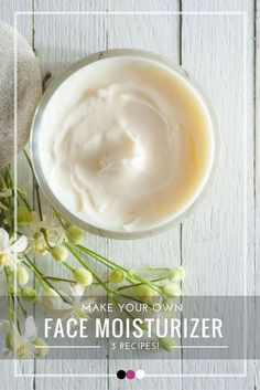 Time to uncover the 3 best kickass DIY face moisturizer recipes!