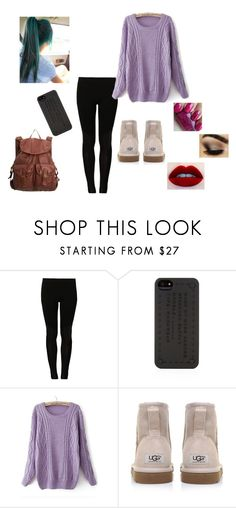 """""""Untitled #40"""" by stephanieczes ❤ liked on Polyvore featuring even&odd, Marc by Marc Jacobs, UGG Australia and dELiA*s"""