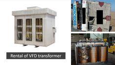 Rental of VFD (converter duty) transformers. Transformers