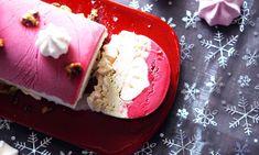 Recette : Bûche glacée maison framboise – pistache par Pretty Chef.fr