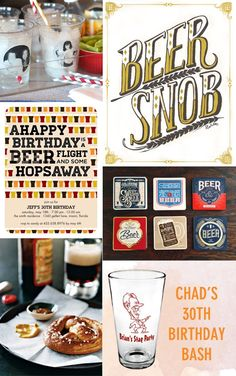 Beer themed birthday inspiration!