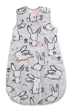 Buy Grey/Pink Bunny Print Sleep Bag 2.5 Tog from the Next UK online shop