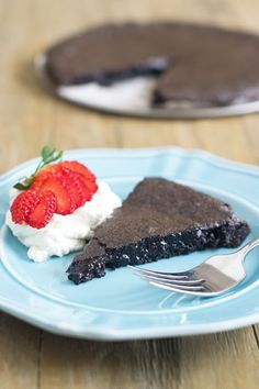 Swedish Chocolate Cake from @thecookful