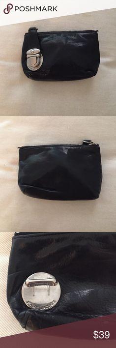 Marc Jacobs Coin Purse/Mini Wallet Black leather Marc Jacobs coin purse with metal clasp. Measures 5' w x 3' h. Marc Jacobs Bags Wallets