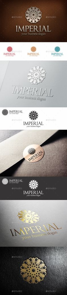 Imperial Fashion Boutique Hotel Logo – Royal Flower Symbol – Elegant Professional Logo – Fashionable, Royal, Luxury, Elegant, and Professional logo template. Luxury Brand Elegant Apparel Boutique Logo Template – This Premium, Classy and Elegant Monogram Logo is ideal for Elite brands like Real Estate, Beauty Salon, Hotel and Resort, Apparel brands, Restaurant, Spa, classy invitations, weddings, luxury industry like jewellery / jewelry, wine, fashion clothes, perfumes...