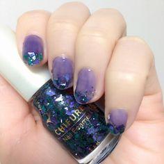 Self Nail, Diva Nails, Makeup Tips, Makeup Hacks, Nail Colors, Nail Polish, Make Up, Purple, Beauty