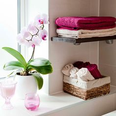 Bright towels | Simple accessories to make bathrooms better | housetohome.co.uk