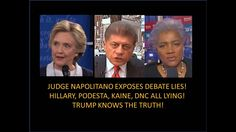Judge Napolitano Just Blame It On The Russia! The NSA Hacked DNC Not Rus...