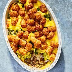 Beef Recipes, Cooking Recipes, Healthy Recipes, Cheesy Recipes, Fall Recipes, Delicious Recipes, Tater Tot Hotdish, Fall Dinner, Broccoli Beef