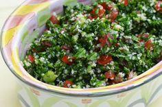 Salata libaneza cu patrunjel si rosii