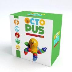 La piovra è una figura da sempre presente nell'immaginario del bambino, Ludus la propone come un gioco d'incastri piacevole e stimolante in cui dimensioni dello snodo, sinuosità delle forme, brillantezza dei colori, qualità del materiale, rendono Octopus un gioco capace di stimolare manualità, logica e fantasia. http://www.ilmelograno.net/it/ludus-giochi/299-octopus-8009971304331.html