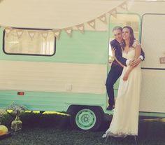 Caravana Vintage Valentina @lamejorinvitada para bodas y eventos.