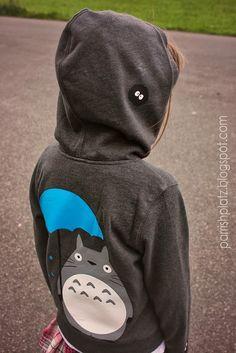 totoro hoodie, silhouette cameo. Parrish Platz 9/2013