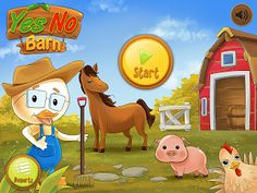 Old School Speech: Yes No Barn: An App Review