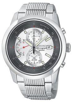 Seiko Japanese quartz Stainless steel Watch #SNAB15P1 (Men Watch), Seiko Men @ www.Bodying.com
