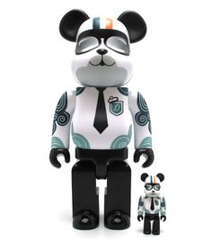 Bearbrick 400% + 100% Paul & Joe