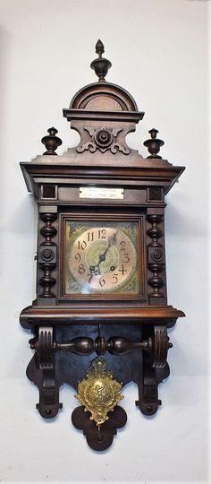 95cm Hoch originale LENZKIRCH AGU Wanduhr Freuischwinger Regulator aus 1900 | eBay