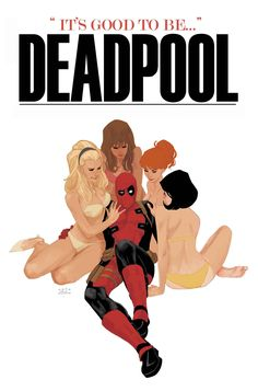 Deadpool #25 variant cover by Phil Noto *