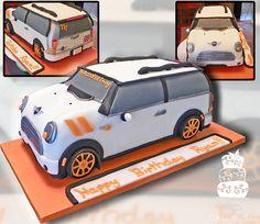 Mini Cooper Birthday by FaithfullyCakes