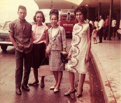 Manila International Airport 1964 Philippines Culture, Manila Philippines, Vintage Photography, Street Photography, Filipino Fashion, Filipiniana, Cool Photos, Interesting Photos, Sixties Fashion
