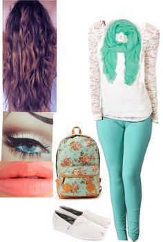 1000+ images about New school yeah on Pinterest | Middle school makeup Middle school outfits ...